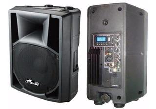 Gbr Pl830 Mp3 Bafle Potenciado Mp3 200 W Bluetooth Radio