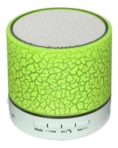 Caixa Som Bluetooth Led Colorido Bateria Recarregável