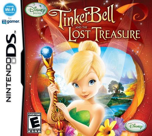 Imagen 1 de 9 de Juego Nintendo Ds 3ds Tinker Bell - Refurbished Fisico