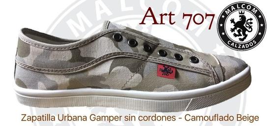 Zapatilla Gamper (sin Cordones)