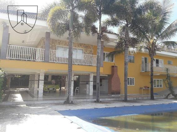 Casa Com 4 Dormitórios Para Alugar, 500 M² Por R$ 5.000,00/mês - Condomínio Jardim Das Palmeiras - Bragança Paulista/sp - Ca0082