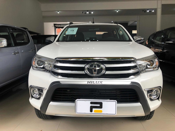 Toyota Hilux 2.8 Tdi Srx Cab Dupla 4x4 Turbo Aut. 4p 2018