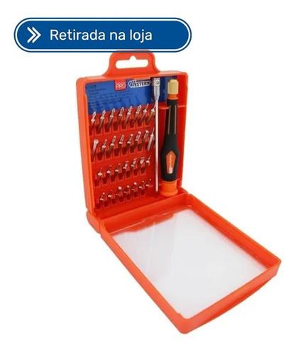 Imagem 1 de 2 de Kit De Chaves De Precisao 32 Peças Western 132w