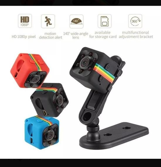 Mini Câmera Espiã Filmadora Sq11 1080p