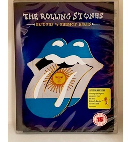 The Rolling Stones, Bridges To Buenos Aires, Dvd Nacional