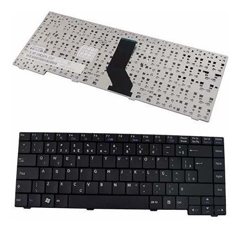 Teclado Notebook Lg C400 A410 Mp-09m26pa-9201 Aeql7600010 Ç