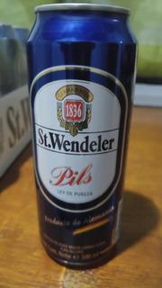 Cerveza St Wendeler Alemana Pack X 24 Latas 500ml - Boedo
