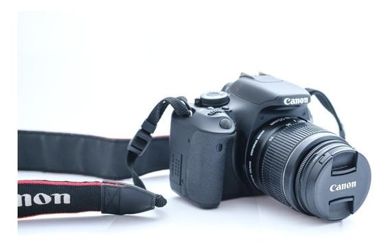 Câmera Canon T3i + Lente 18-55 + Cartão De 8gb + Bolsa