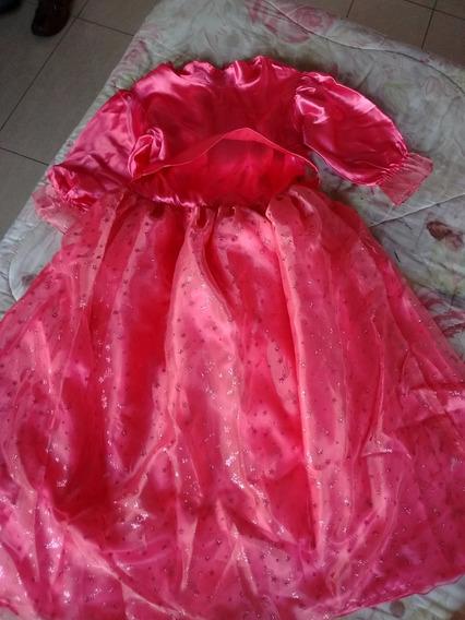 Vestido Disfraz Hada Madrina O Princesa