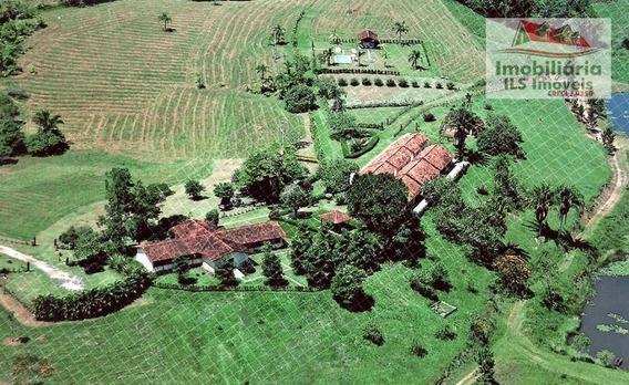 Fazenda Rural À Venda, Centro, Pariquera-açu. - Fa0009