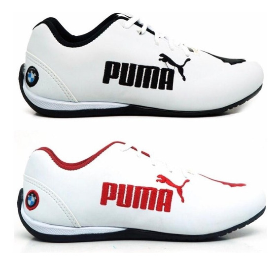 Kit 2 Pares Tenis Masculino Bmw Cat 2 Confortavel Leve