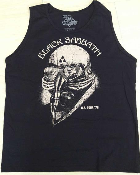 Regata Black Sabbath Never Say 1978 Preto Mr. Baboo Mbbs01