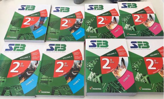 Livros Sistema Farias Brito 2 Ano -= 12 Livros