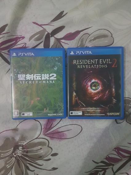Resident Evil Secret Of Mana Psvita