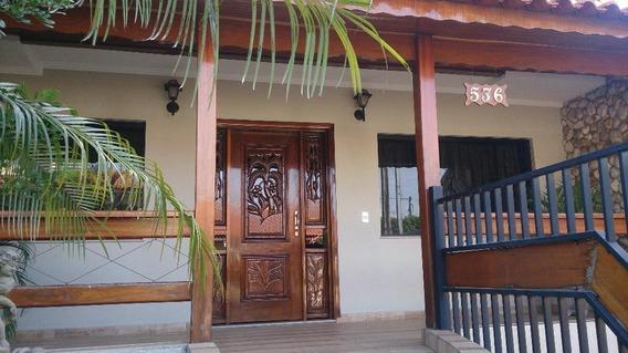 Casa À Venda, 4 Quartos, 8 Vagas, Vila Nossa Senhora De Fátima - Americana/sp - 4873