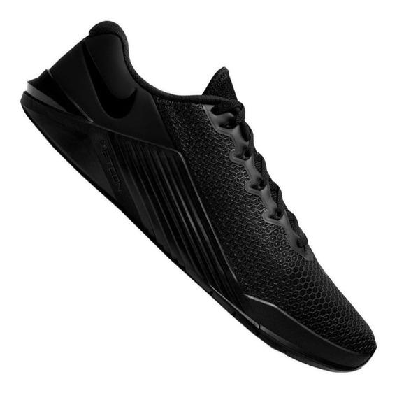 Tenis Crossfit Nike Metcon 5 Hombre Adulto 28.5mx Negro Fit