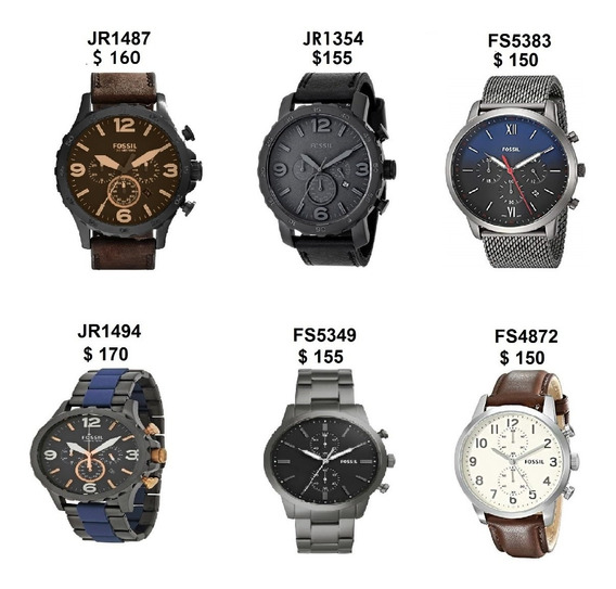 Reloj Fossil Y Casio Varios Modelos Originales Nuevo En Caja