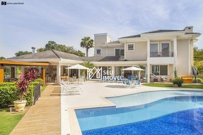 Casa Com 6 Dormitórios À Venda, 592 M² Por R$ 4.500.000 - Fazenda Vila Real De Itu - Itu/sp - Ca1774