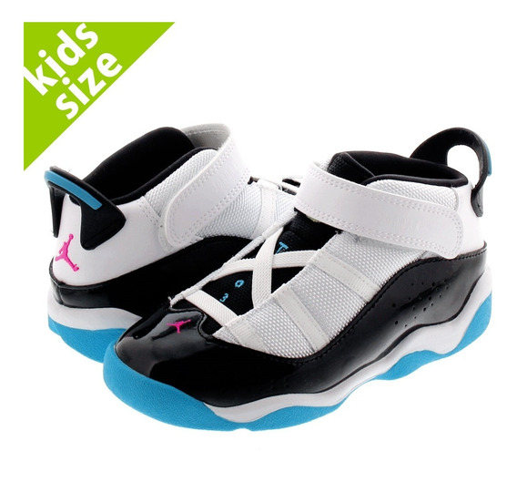 Tenis Jordan Niños Air 6 Rings Bebe Basketball Fusion Retro