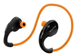 Fone De Ouvido Arco Sport Bluetooth Laranja Ph185 Multilaser