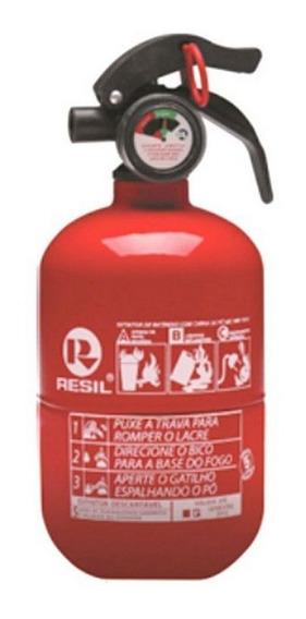 Extintor Abc Automotivo 1 Kg Bojudo Original Resil