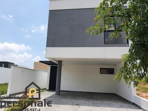 Casa Em Condomínio Em Sorocaba, Terras De São Francisco - Ca00471 - 69303920