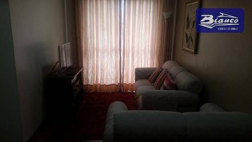 Imagem 1 de 7 de Apartamento Residencial À Venda, Vila Antonieta, Guarulhos. - Ap1796