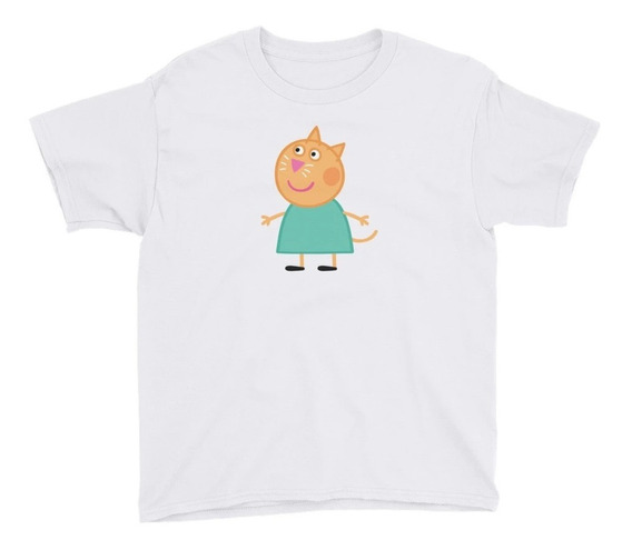 Personalízala Candy Cat Playera Niños