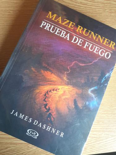 Libro A Prueba De Fuego Maze Runner Nuevo