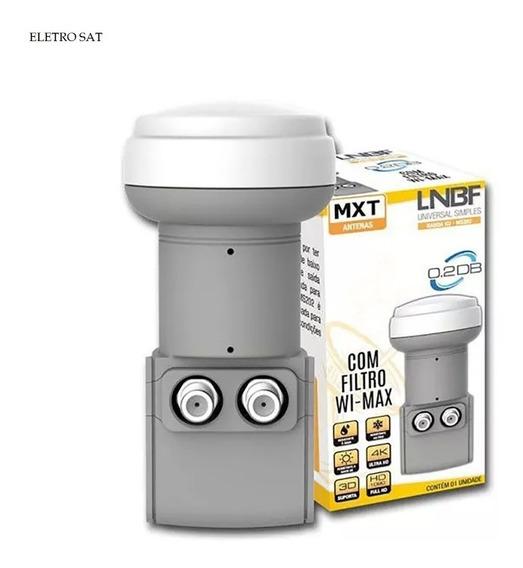 Lnb Ku Duplo Com Filtro Wi-max Mxt Promoção