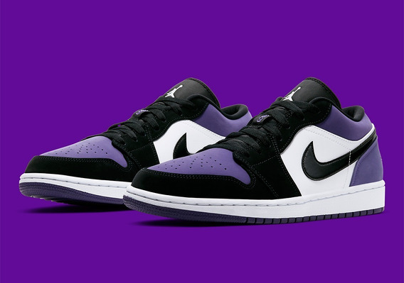 Jordan 1 Low Purple