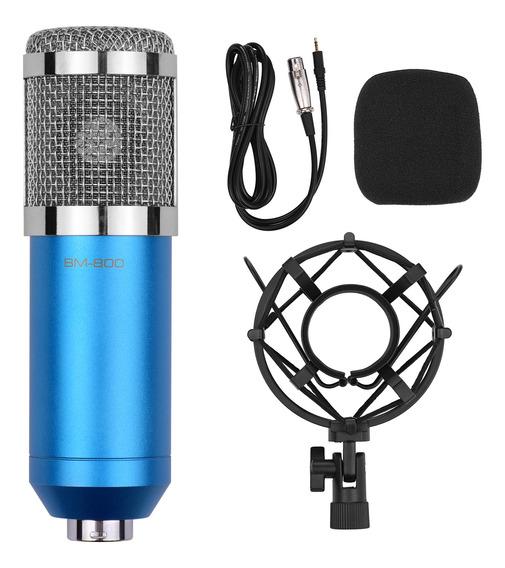 Kit De Microfone De Condensador Cardioide Profissional Com Á