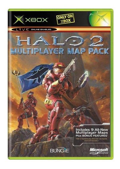 Halo 2 Multiplayer Map Pack Xbox Mídia Física Pronta Entrega