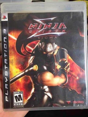Ninja Gaiden 1 Em Mídia Física Ps3, Completo.