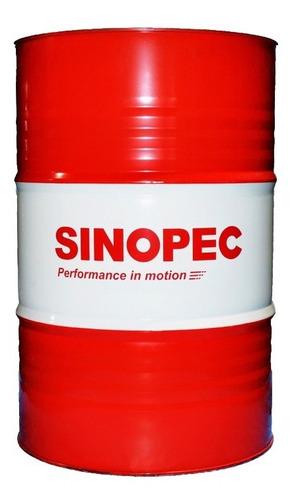Imagen 1 de 1 de Sinopec - Aceite Lubricante 10w40 Semi-sintético (200 Lts.)