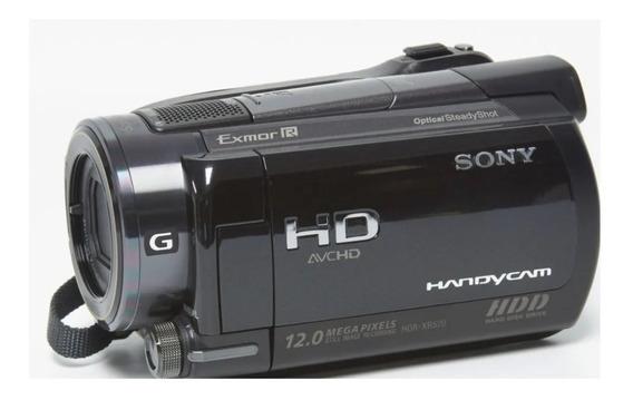 Filmadora Sony Hdr Xr 520 12mp Transmissão Ao Vivo Full Hd