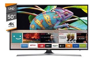 Smart Tv Led 50 4k Uhd Samsung Un50mu6100gxzd
