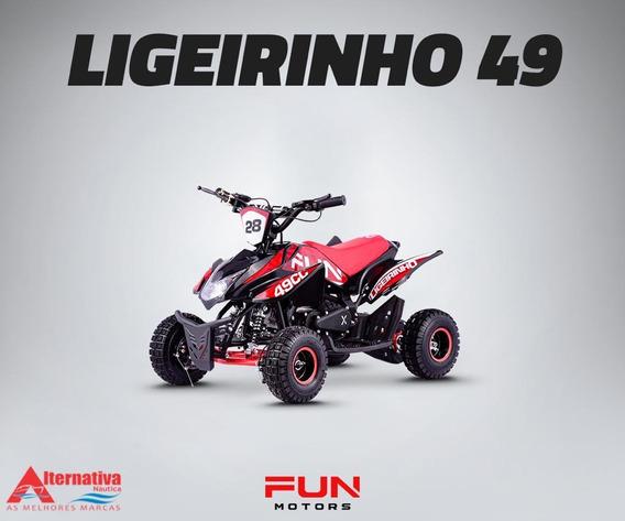 Mini Quadriciclo Ligeirinho 49cc