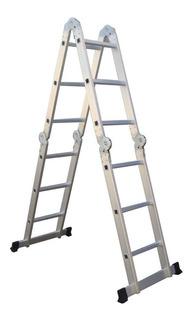 Escalera Multiproposito 16 Pasos En Aluminio