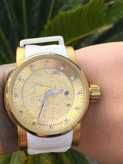 Relógio Yakuza Automático Original - Promoção Envio Imediato