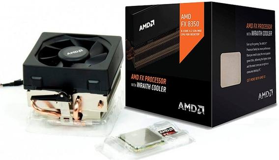 Processador Amd Fx 8350 4ghz Octa Core Cooler Wraith Am3+