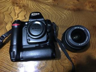 Camara Profesional Digital Nikon D80 Lente 18-55 Y Bat Pack