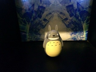 Totoro Tamaño Mini - 3d Print - Sheldortoys