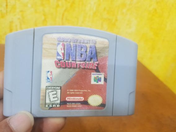 Kobe Bryant In Nba Courtside Usada Usa Nintendo 64