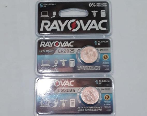 2 Bateria Rayovac Cr2025 3v Lithium De Alta Performance