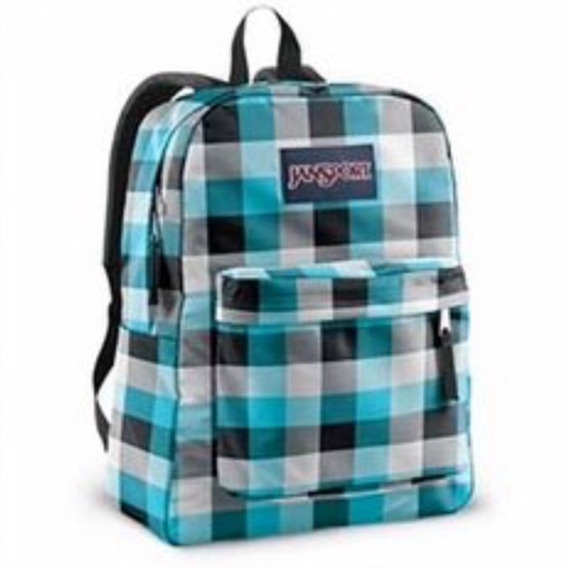 Mochilas Jansport Superbreak Tiffany Blue