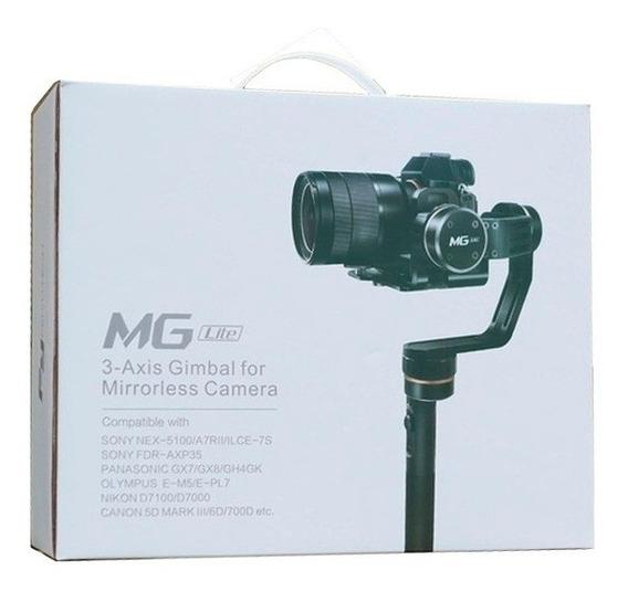 Estabilizador Gimbal Feiyutech Mg Lite 3 Axis Dslr 360 Novo#