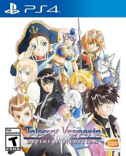 Tales Of Vesperia Definitive Edition Ps4 (en D3 Gamers)