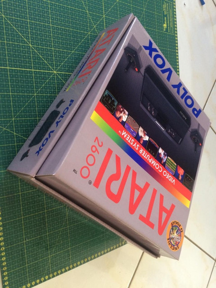 Atari, Atari 2600 Caixa De Reposição Pra Jogos Ou Console
