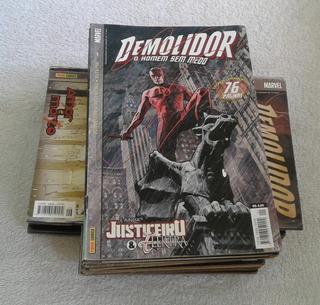 Hq Demolidor - 1ª Série/panini (2004-2006) Lote 16 Revistas